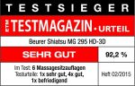 Beurer MG 295 Shiatsu-Sitzauflage im Detail-Check