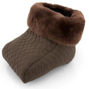 Fußsack Fußwärmer Lammfell im Detail-Check