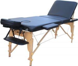 Klappbarer H-Root Drei-Zonen-Massagetisch im Detail-Check
